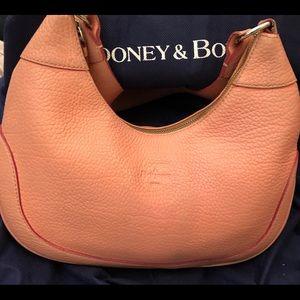 Peach Dooney & Bourke hobo bag